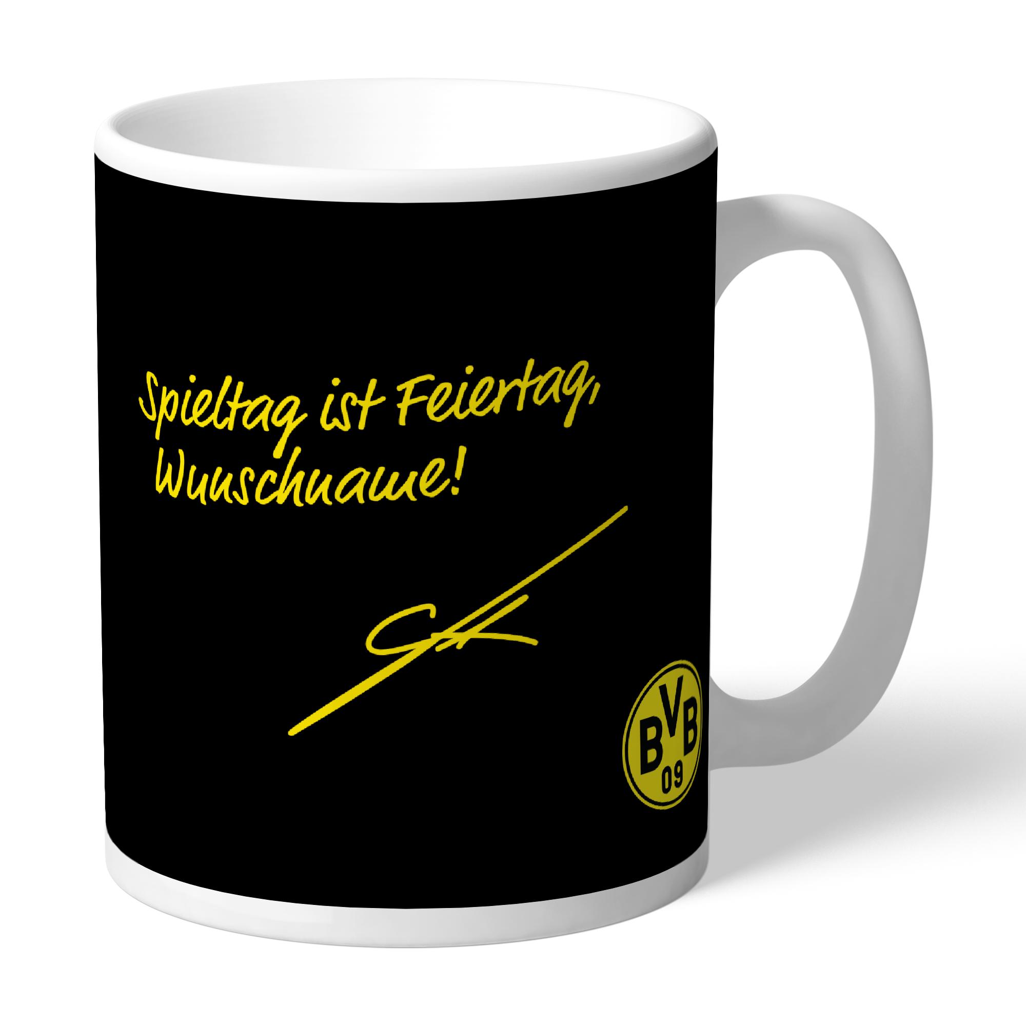 75. BVB-Tasse indiv. Gotze (Spieltag)