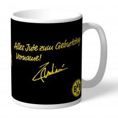 07. BVB-Tasse indiv. Pulisic (Geburtstag)