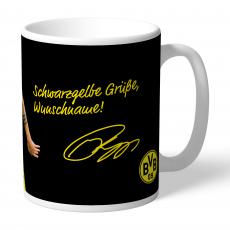 21. BVB-Tasse indiv. Philipp (Schwarzgelbe Grueße)