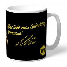 47. BVB-Tasse indiv. Reus (Geburtstag)