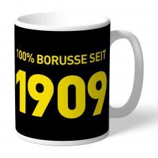 55. BVB-Tasse indiv. 100% Borusse (Geburtsjahr)